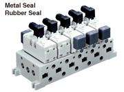 5 Port Solenoid Valve/ISO Standard VQ