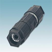 Conector de linha com tecnologia de conexão rápida de 0,14 mm² a 2,5 mm²