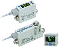 2-Color Display Digital Flow Switch PFM